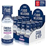 Dream Water Zero Calorie Natural Sleep Aid Drink - 74ml per Bottle - 24 Count