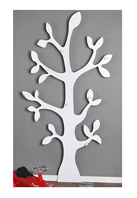 Attaccapanni Albero A Muro.Clever Moebel Baum Appendiabiti Da Parete A Forma Di Albero