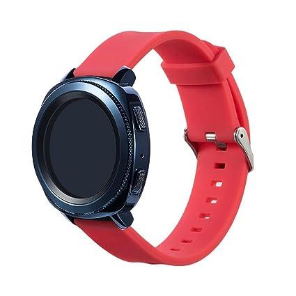 Correa de reloj para Samsung Gear deporte, vneirw hombre mujer Fashion Sports suave y cómoda