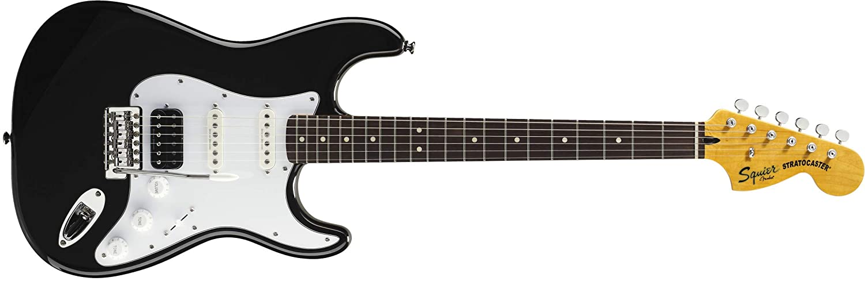 Squier by Fender - Guitarra eléctrica para principiantes, diseño vintage: Amazon.es: Instrumentos musicales