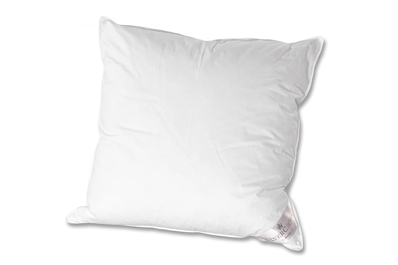 Brinkhaus-Silvercrown Kissen Silvercrown Arktis medium Daunen Feder weiß Größe 80x80 cm