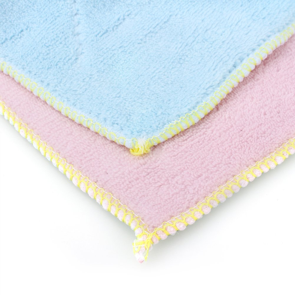 Yosoo Dish Cloth Towel,10 Pack - Bamboo Fiber Dish Towel Kitchen Clean Towels Dishcloth Household Wash Rag, 10.2 x 6.2 by Yosoo (Image #5)