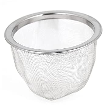 Amazon.com: Tea Leaves Filter - TOOGOO(R) 63mm Silver Tone Stainless ...