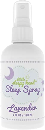 Little Sleepy Head Lavender Spray for Kids & Adults, Calming Spray