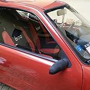 Set di 6 Bicolore Nero//Rosso Lupex Shop 600/_Nr Coprisedili Auto