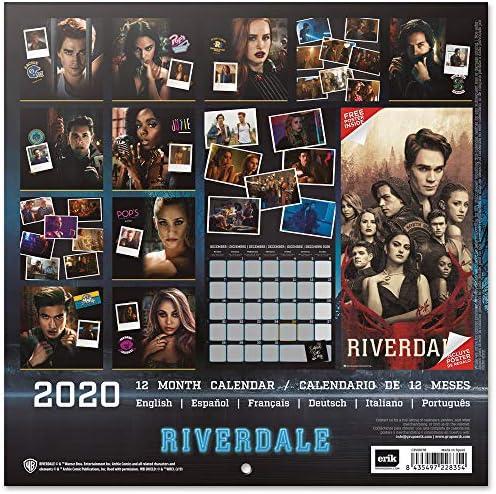 Amazon.: ERIK   Riverdale 2020 Wall Calendar (Free Poster