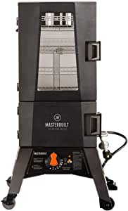 Masterbuilt MB21050916 Adventure Series Innovative MPS 330G ThermoTemp XL Propane Smoker, 40 Inches Tall
