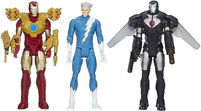 Hasbro Los Vengadores - Pack 3 Figuras Titan: Amazon.es ...
