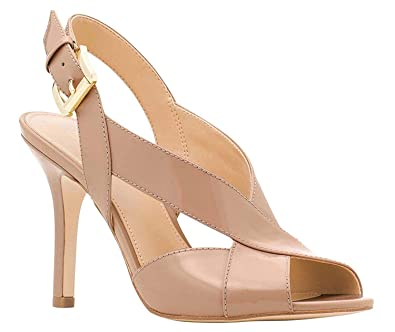 4e48beb361ce Michael Michael Kors Womens Becky Suede Open Toe Special Occasion Ankle  Strap.  Amazon.co.uk  Shoes   Bags