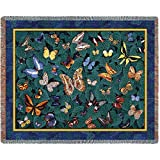 Pure Country Weavers ''Butterfly Dance Blanket'' Tapestry Throw