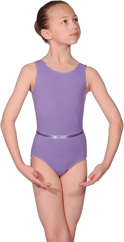 Official BBO Dance Lavender Sleeveless Leotard for Grades 1-3 Ballet