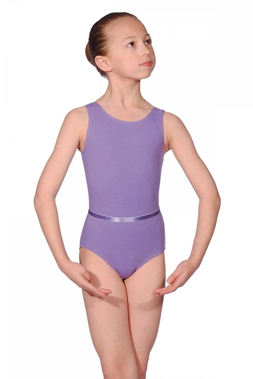 Roch Valley Dance Leotard /& Belt CJune Cotton//Lycra Ballet RAD Exam Panama Blue