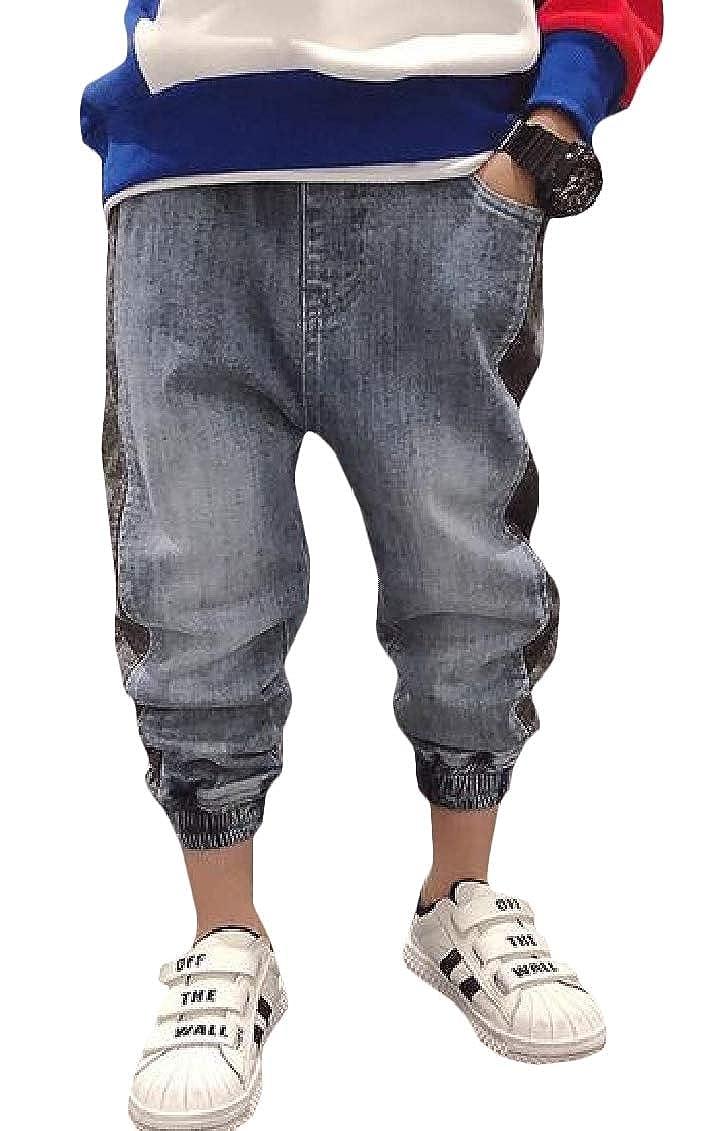 Sweatwater Boys Stretch Harem Jogger Athletic Denim Pants Casual Jeas
