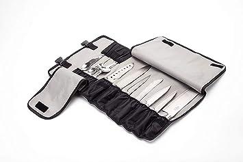 Bolsa para Cuchillos de Chef con 13 Ranuras para 7 Cuchillos ...