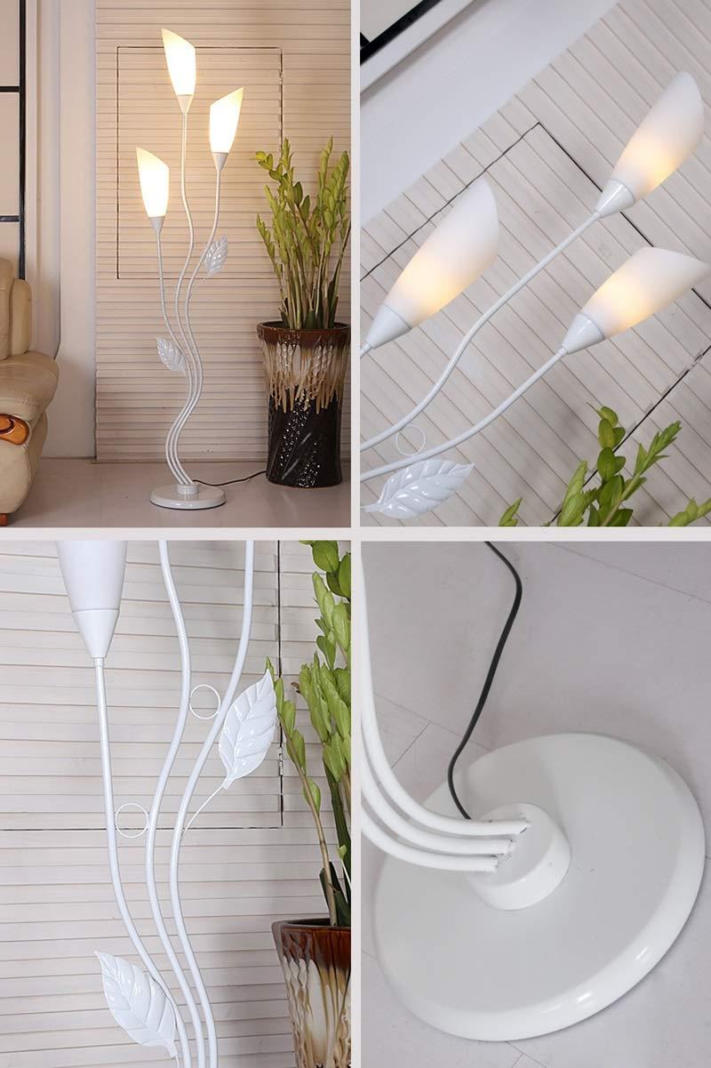 Amazon.com: Lámpara de pie moderna para sala de estar ...