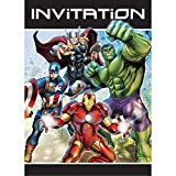 Avengers Party Invitations, 8ct