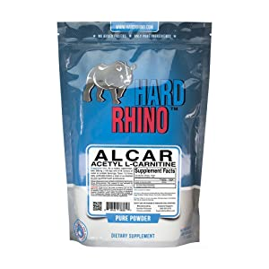 Hard Rhino Acetyl L-Carnitine (ALCAR) Powder