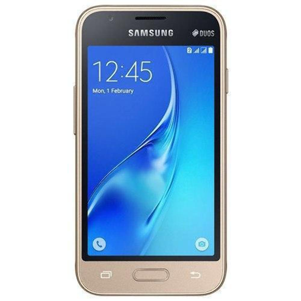 Samsung Galaxy J1 Mini 8GB J106H/DS Dual Sim Unlocked Phone - Retail Packaging (Gold)