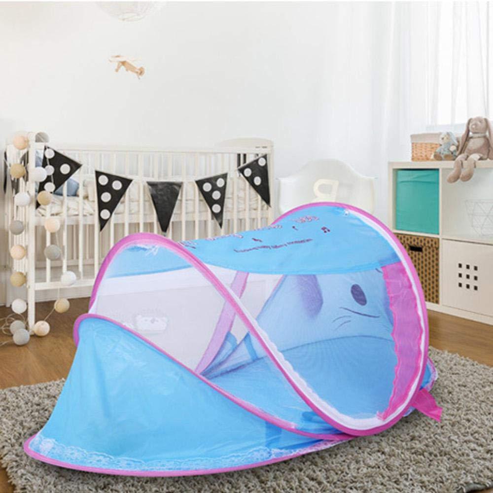 Jardin et Plage Camping moustiquaire Pliable pour Chambre de b/éb/é Vuffuw Lit de Voyage Portable pour b/éb/é en Forme de Chien