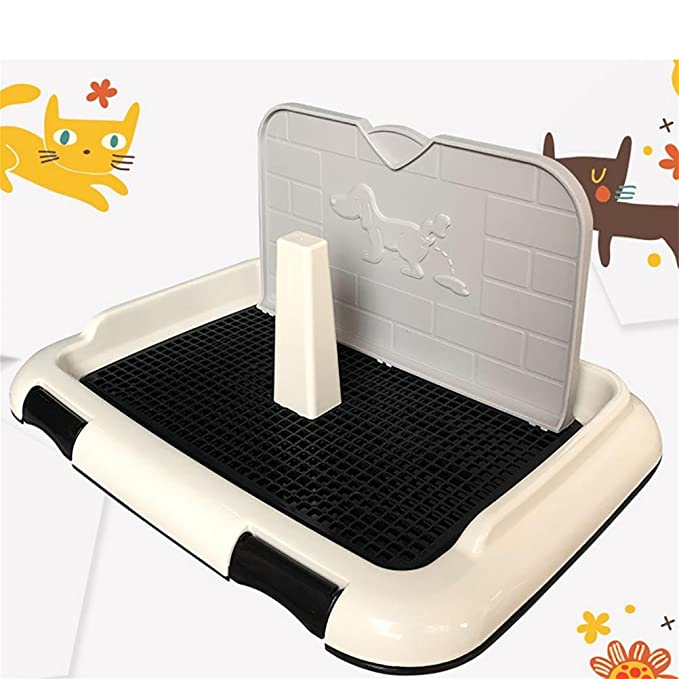 Amazon.com : DAN Pet Potty Puppy Toilet with Simulation Wall for Male Dog Pee Training Pad, 674628cm : Pet Supplies