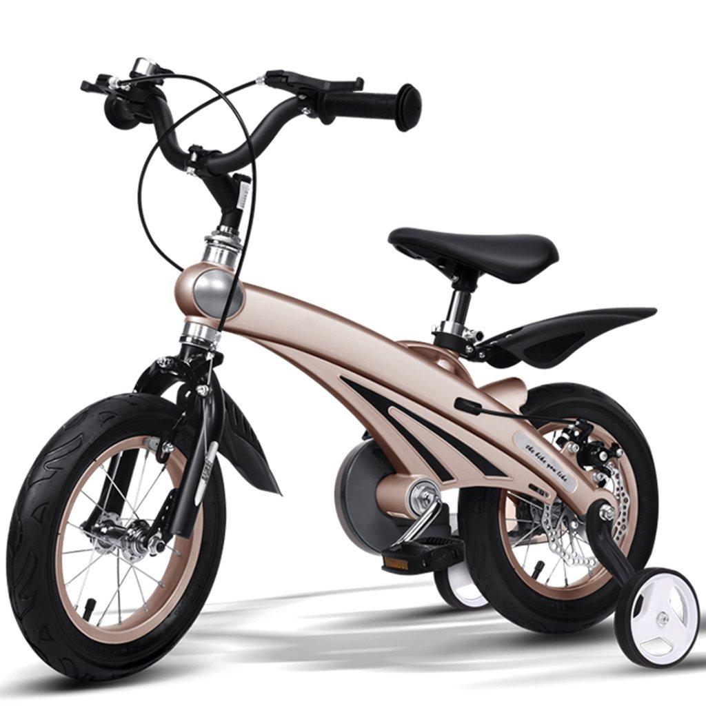 子供用自転車、A&Dan マグネシウム合金子供用自転車子供用三輪車2-11歳の子供に適しています B07CR2GSH5 16〃