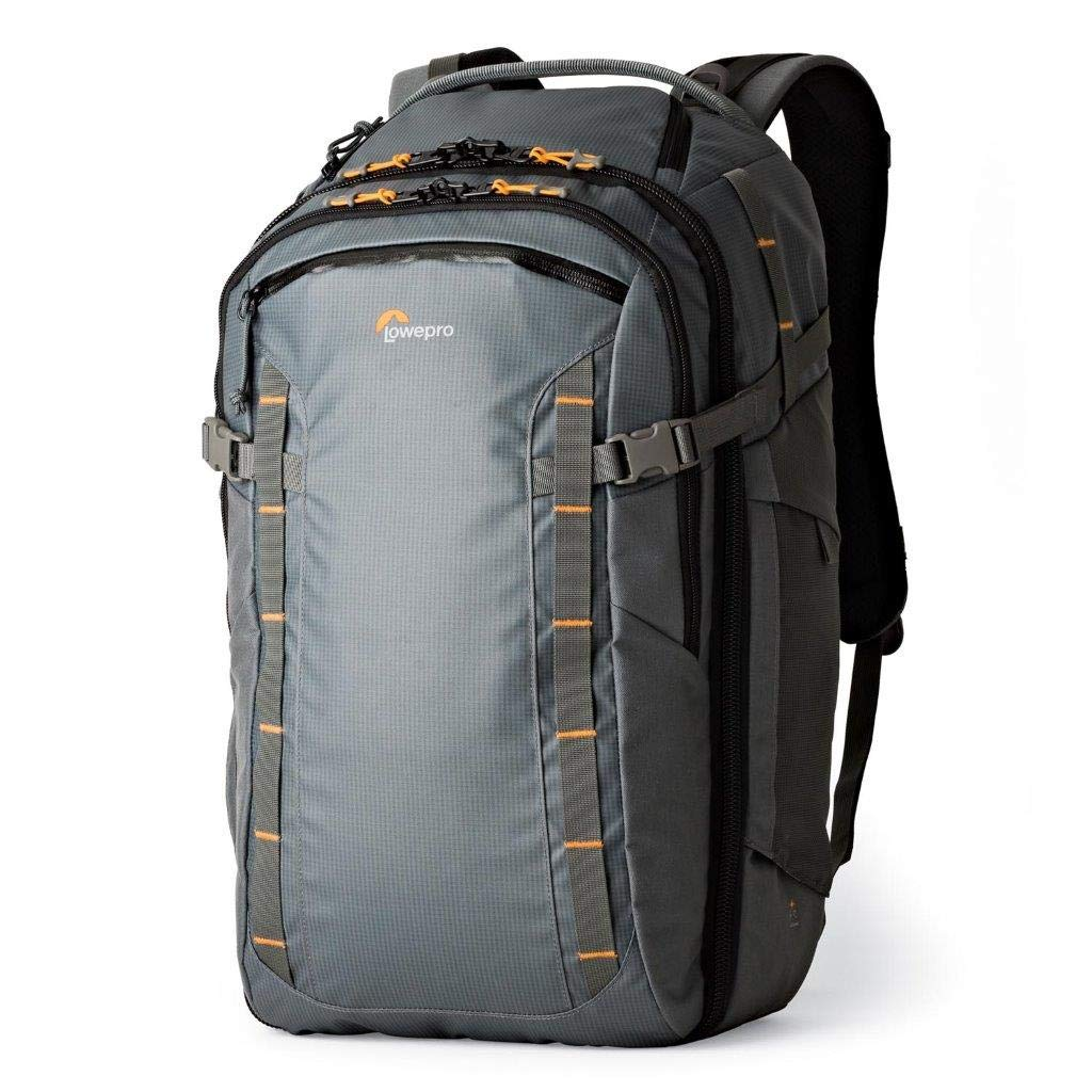 728623c9a4 Amazon.com : Lowepro HighLine BP 400 AW - Weatherproof & rugged 36-liter  daypack for adventurous travelers who carry modern devices into any  location ...
