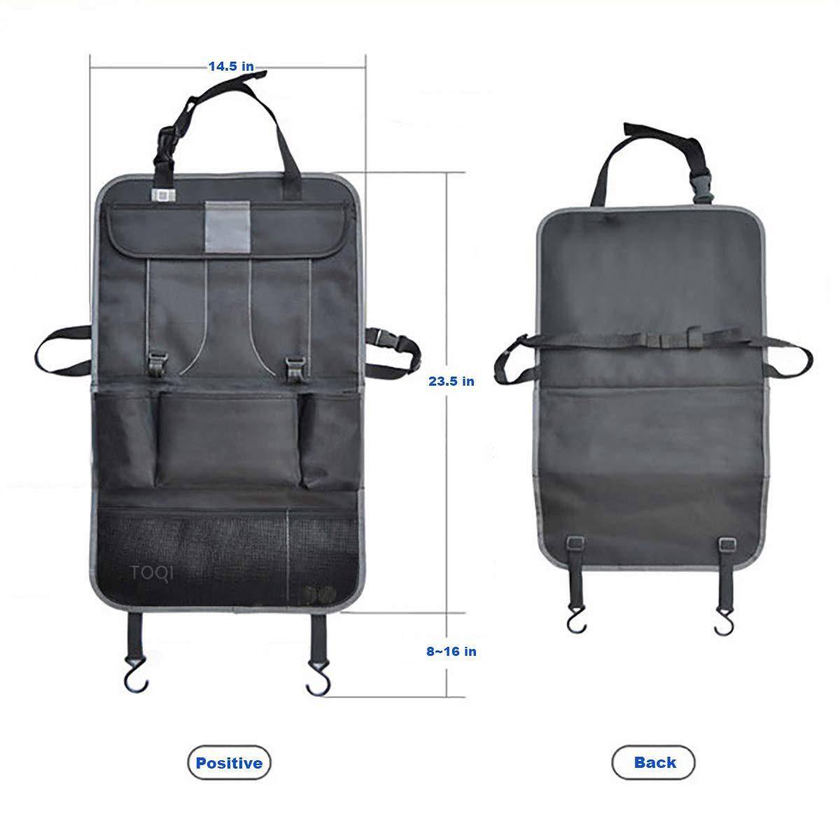 Amazon.com: Organizador de asiento trasero para coche con ...