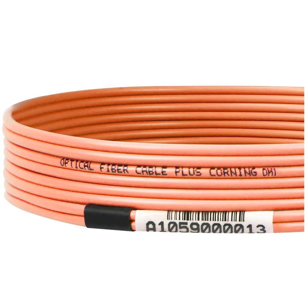 Mua Sn Phm Om1 625 125 Multimode Duplex Fiber Optic Patch Cable Plenum 40 Gigabit Ethernet Qsfp 40gbasesr4 To Mtp Sc 5