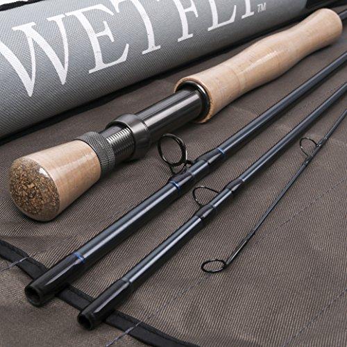 Wetfly 4 Piece Construction Nitrogen Fly Rod, - Fishing Bay Pac