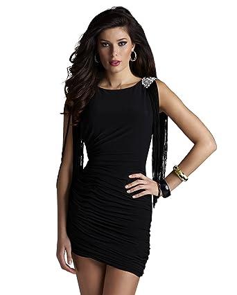 e1ac3b4126e Amazon.com  Clarisse Fringe Homecoming Gown 2255  Clothing