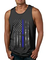 Patriotic American Flag Stars All Over Tank Top Shirt