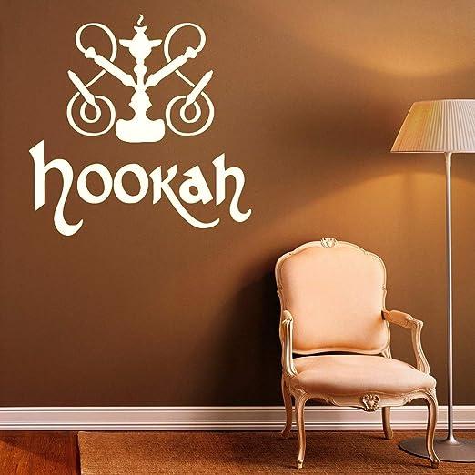 Baobaoshop Hookah Tatuajes de Vinilo de Pared calcomanías Relajado ...