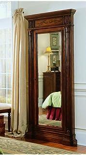 Amazon.com: Hooker Furniture 500-50-656 Floor Mirror w/Hidden ...