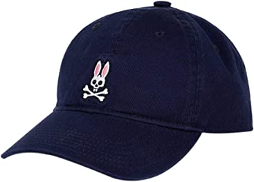 Psycho Bunny Mens Baseball Cap Ultra Marine