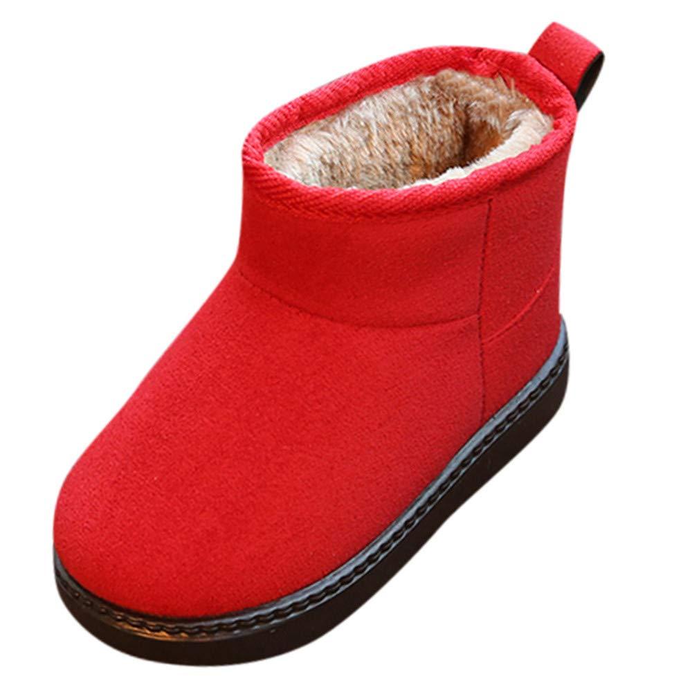 CieKen Toddler Newborn Baby Girls Girl Crib Shoes Winter Boots Prewalker Warm