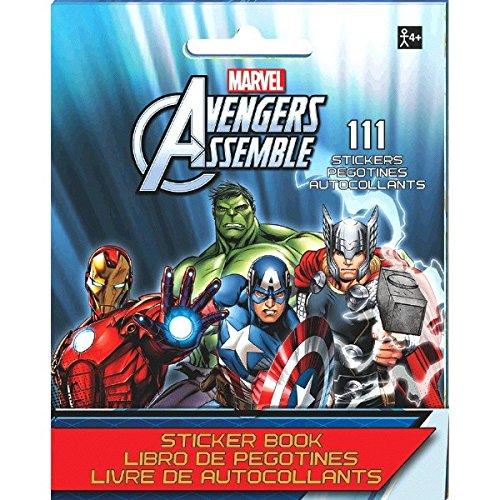 150247//A Marvel Avengers Sticker Booklet Party Favor TradeMart Inc