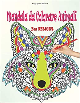 Amazon Com Mandala Da Colorare Animali Libri Da Colorare Mandala