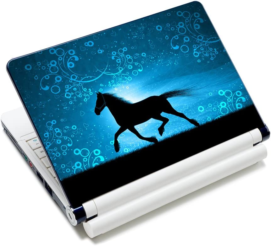 "Horse 11.6"" 12.1"" 13"" 13.3"" 14"" 15"" 15.4"" 15.6"" Netbook Laptop Skin Sticker Reusable Protector Cover Case for 11.6"" -15.6"" Inch Apple Acer Leonovo Sony Asus Toshiba Hp Samsung Dell FY-NEK-007"