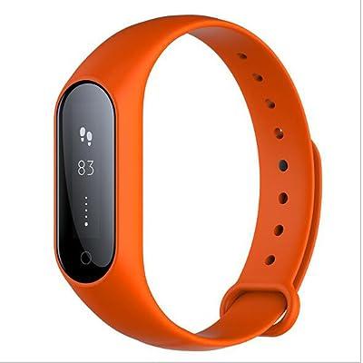 Ruiren Fitness Tracker, Smart Bracelet Bluetooth, Résistant avec Moniteur de Sommeil / Reveil / Étape Tracker / Calorie Counter avec Rappel Appel / SMS pour iOS Android Smartphones