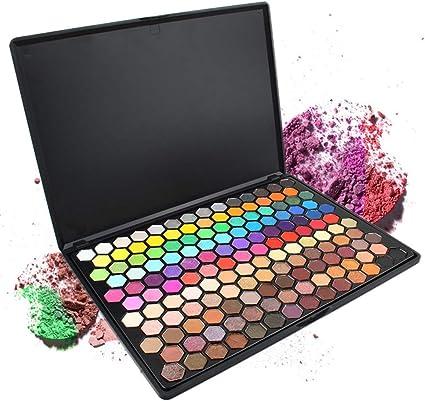 PhantomSky 149 Colores Sombra De Ojos Paleta de Maquillaje Cosmética con Corrector, Polvo, Rubor y Brillo de labios - Perfecto para Uso Profesional y Diario: Amazon.es: Belleza