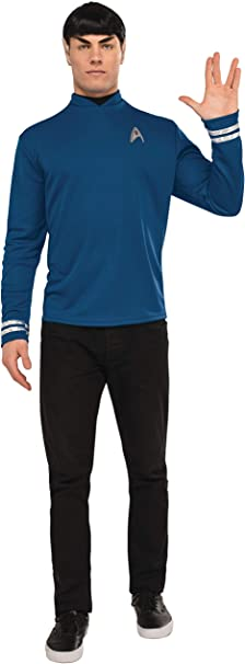 Rubies Costume Deluxe Star Trek Spock Costume Standard: Amazon.es ...
