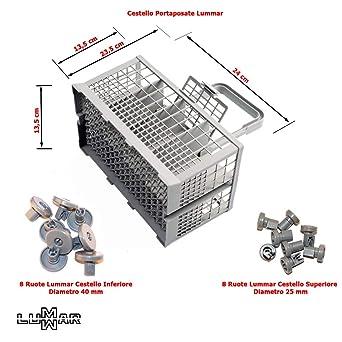 cesta cubiertos Lavavajillas Universal Compatible modelos Rex ...