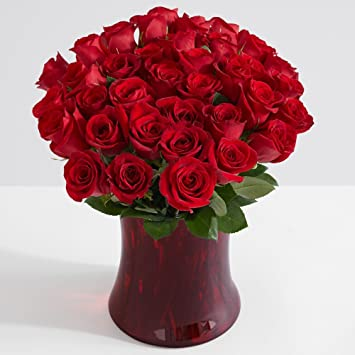 Amazon Proflowers 36 Count Red Three Dozen Red Roses Wfree