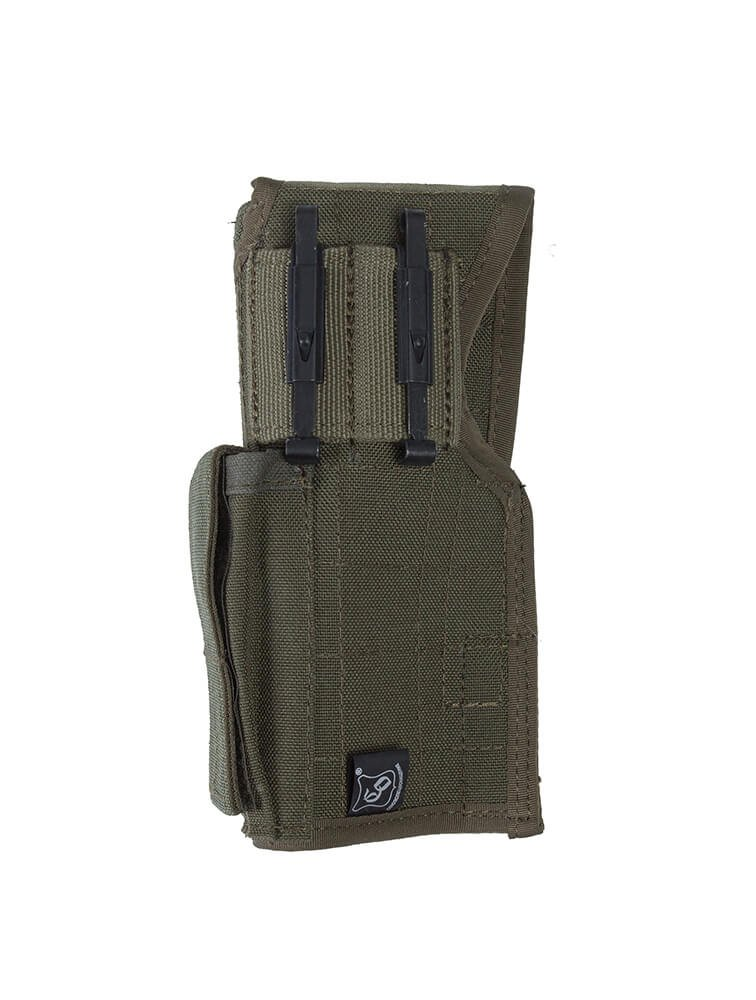 """SPOSN SSO Holster /""""KP-PY/"""" for Yarigin Pistol With 2 Alice Clips in Olive"""
