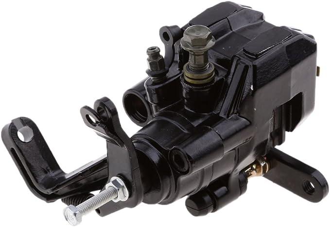 Gazechimp Rear Brake Caliper Assembly for Yamaha YFZ450 YFZ 450 2004-2005 Black