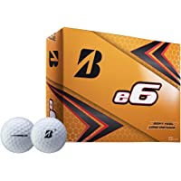 Bridgestone 2019 E6 - Pelota de Golf (12 Unidades), Color Blanco