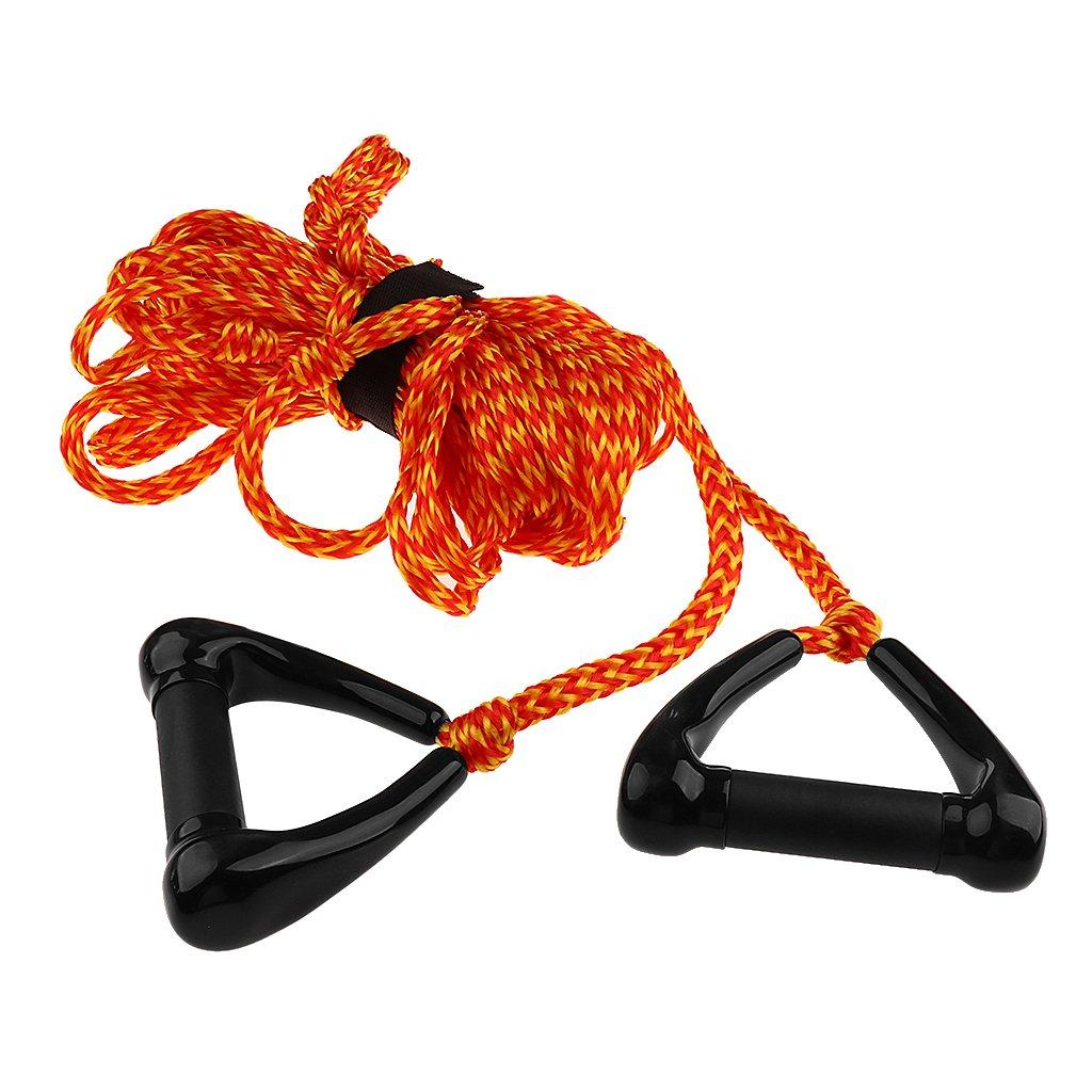 Sharplace Cuerda Correa de Remolque Color Brillante con Manija para Esqu/í Acu/ático Deporte de Arrastre