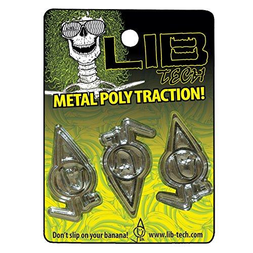 Lib Tech Metal Poly Traction Stomp Pad by Lib Tech