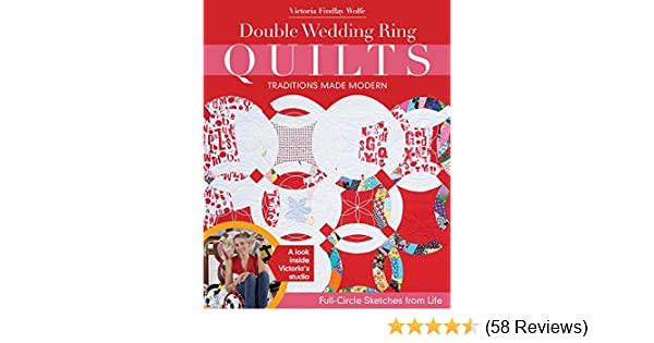 Double Wedding Ring Quilts Traditions Made Modern Full Circle Sketches From Life
