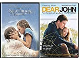 Dear John & The Notebook Romance Movies DVD Set Double Feature Love Twice as Much